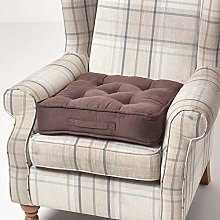 Homescapes Brown Armchair Booster Cushion Large