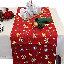 Homescapes - Christmas - Table Runner - Red