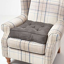 Homescapes Grey Armchair Booster Cushion Large