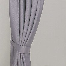 Homescapes Grey Embossed Curtain Tie Back Pair