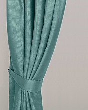 Homescapes Pastel Blue Curtain Tie Back Pair