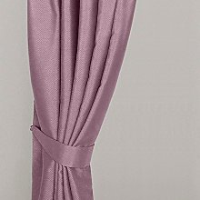 Homescapes Pastel Pink Curtain Tie Back Pair