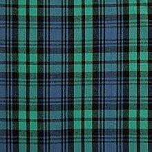 HOMESCAPES Pure Cotton Furnishing Fabric - Black