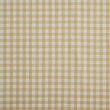 Homescapes Pure Cotton Furnishing Fabric - Gingham