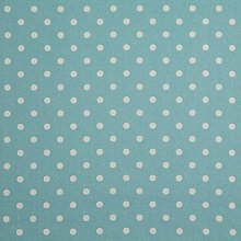 HOMESCAPES Pure Cotton Furnishing Fabric - Polka