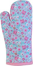 Homescapes - Pure Cotton Oven Glove - Butterflies