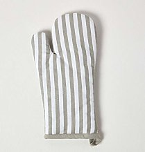 Homescapes - Pure Cotton Oven Glove - Thin Stripe