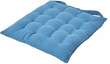HOMESCAPES - Seat Pad - Air Force Blue - 40 x 40