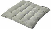 HOMESCAPES - Seat Pad - Grey - 40 x 40 cm - Indoor