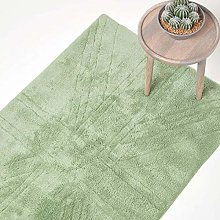 HOMESCAPES Tufted Washable Rug 100 % Cotton with