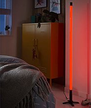 homesdirect365 Modern LED Tube Light Red
