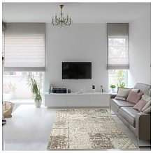 Homespace Direct - Amalfi Pink/Beige 140x200cm