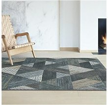 Homespace Direct - Canyon Grey/Blue 133x195cm