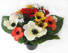 Homestreet Artificial flower arrangement, Anemones
