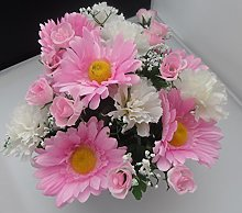 Homestreet Artificial Pastel flower arrangement