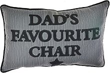 Homestreet Dads Cushion, Gift For Dad, Navy