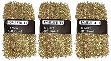 Homestreet® Extra Long 45 metre, 150 foot, Tinsel