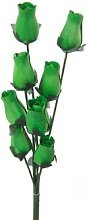Homestreet Flowers Wooden Roses In Many Colours -