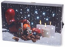 Homestreet LED Light Up Christmas Hanging Or Shelf