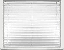 Homestyle Vinyl Slat Mini Venetian Blind White