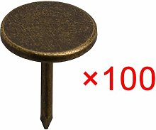 Homeswitch 100 Pieces 11x15mm Upholstery Tacks