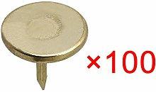 Homeswitch 100 Pieces Upholstery Tacks Nail Push