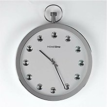 Hometime Metal Stop Watch Clock - Crystals From
