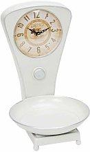 HOMETIME? Vintage Kitchen Scales Mantel Clock