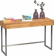 HomeTrends4You Console/Desk, Wild Oak, 120 x 42 x