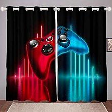 Homewish Boys Games Curtains Gamer Window Curtain