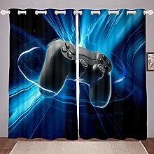 Homewish Teens Gaming Window Curtain Gamer Gift