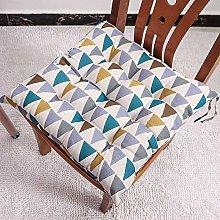 homeyuser 2pcs Chair Cushion Seat Pad Garden
