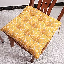 homeyuser 2pcs Padded Cushion Chair Seat Pad