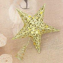 homeyuser Christmas Tree Topper Metal Star Tree