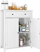 Homfa Bathroom Storage Cabinet Freestanding
