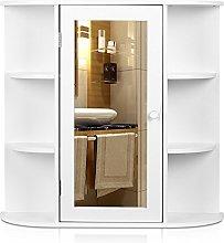 HOMFA Bathroom Wall Cabinet Multipurpose Kitchen