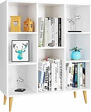 Homfa Bookcase Cube Storage Unit Display Cabinet
