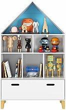 Homfa Children's Cabinet Kids Bookcase with