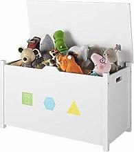 Homfa Children Toy Storage Cabinet with Lid