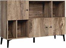 Homfa Cube Storage Bookcase Industrial Sideboard