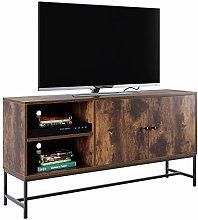 Homfa Industrial TV Stand TV Cabinet Media Console