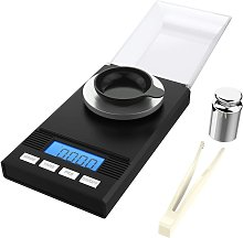 homgeek 50g / 0.001 g milligram scale, fine scale,