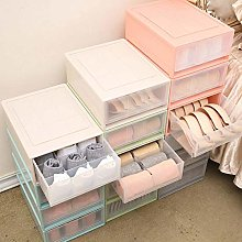 Homieco Stackable Box Chest Plastic Transparent
