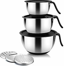 Homikit Mixing Bowl, Stainless Steel Nesting Bowls