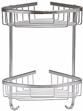 HOMION STAINLESS STELL CORNER SHOWER CADDY