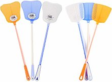 HOMIXES Fly Swatter Flexible Manual Swat Plastic