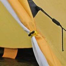 Hommoo 4-person Tent Yellow QAH32241