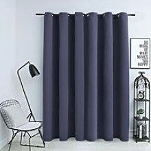 Hommoo Blackout Curtain with Metal Rings
