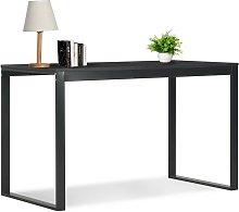 Hommoo Computer Desk Black 120x60x73 cm VD07539