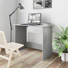 Hommoo Desk Grey 100x50x76 cm Chipboard VD31585